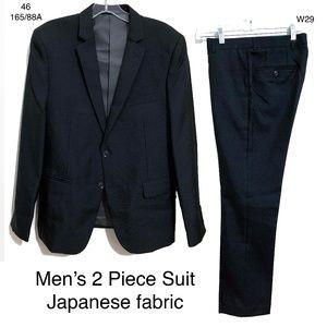 Men's Navy 2 Piece Suit (Blazer + Trousers)